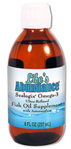 066 newlifesabundanceomega3oil New & Improved Sealogix Omega 3 Ultra Refined Fish Oil Liquid