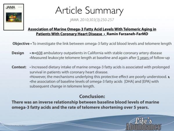 omega 3 life's abundance benefits